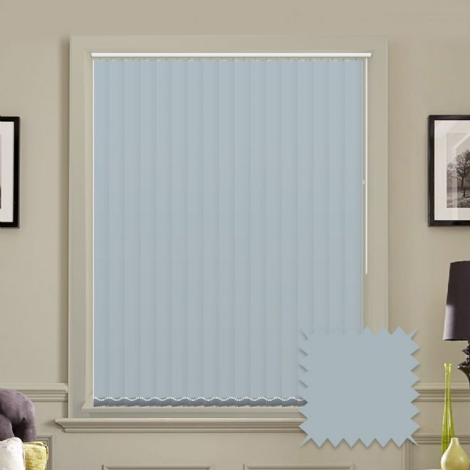 "Made to Measure Blackout 5"" Unishade Batik Vertical Blind"